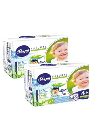 Sleepy Külot Bez No:4+ 52 Adet 9-16Kg Maxi Plus
