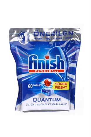 Finish Quantum Bulaşık Makinesi Tableti 60Lı